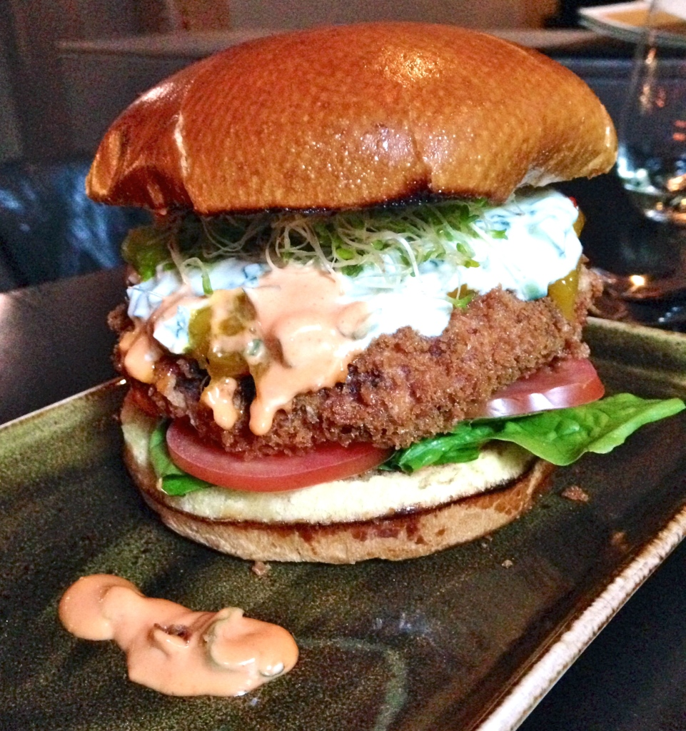 Tanta Chicago Quinoa Burger