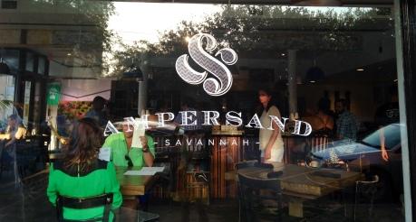 Ampersand Sign Savannah