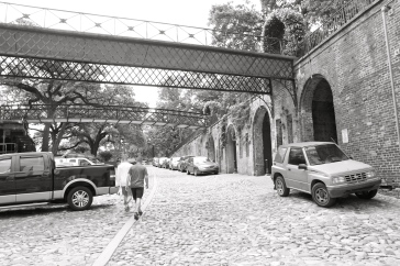 Behind River Street Savannah