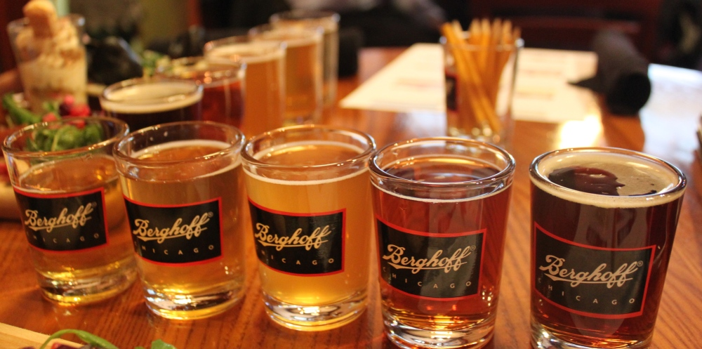 Berghoff Chicago Beer Flight CCBW