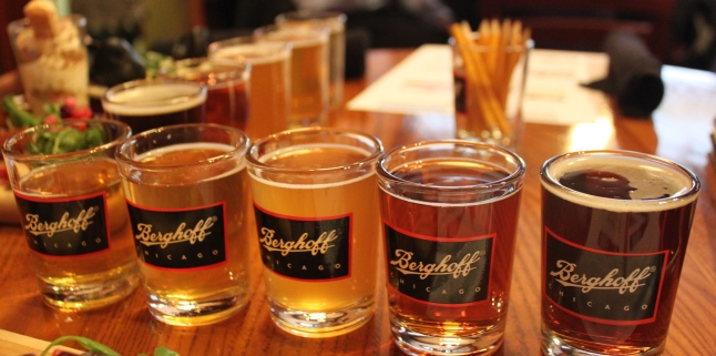 Berghoff Chicago Beer Flight CCBW