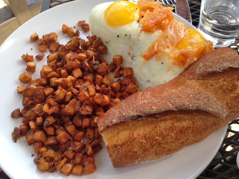 Bread and Wine Breakfast banh mi
