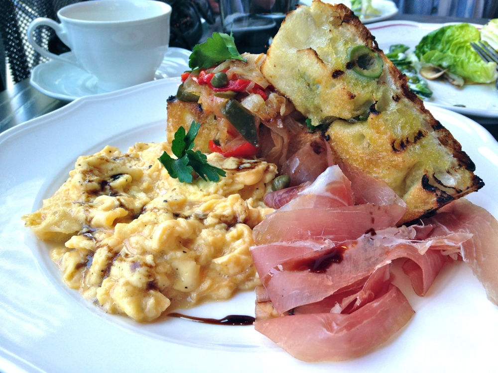 Nico Osteria Soft-scrambled eggs
