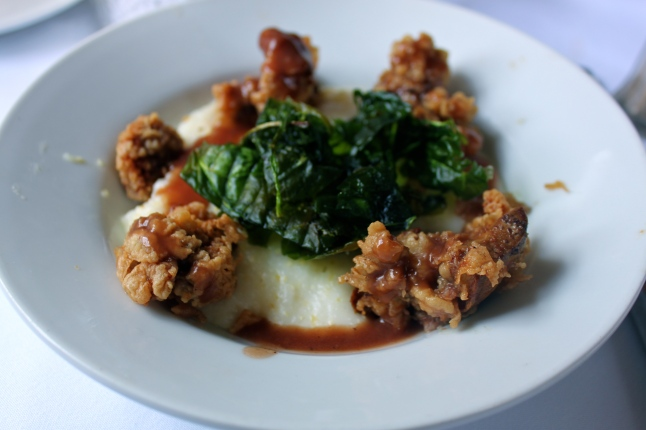 Olde Pink House Fried Chicken Livers