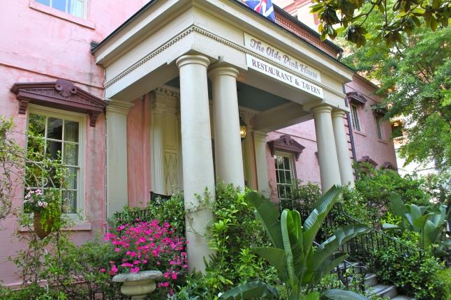 The Olde Pink House Restaurant Entrance