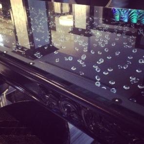 Diamond top tables Adamus Lounge