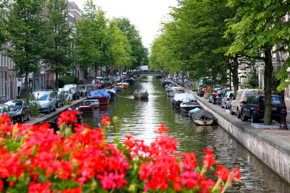 Amsterdam Prinsengracht Canal Henk