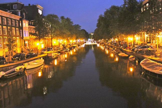 Canal Jordaan Neighborhood
