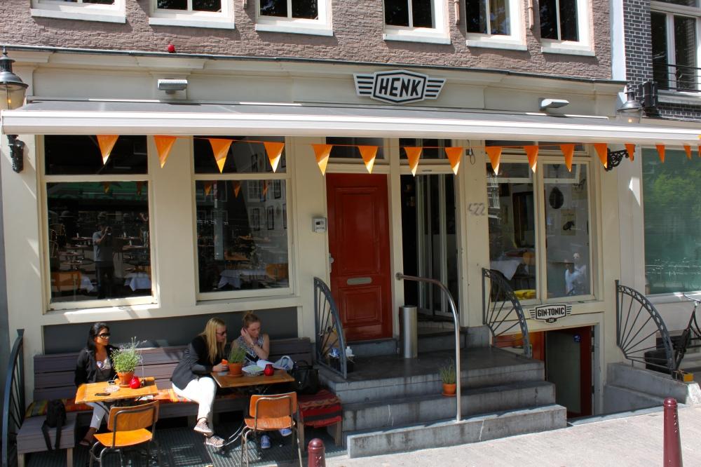 Henk Amdestram Netherlands Front