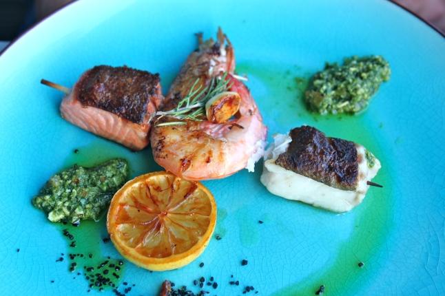 Le Gril by Loui & Jules Bremen Salmon & Shrimp