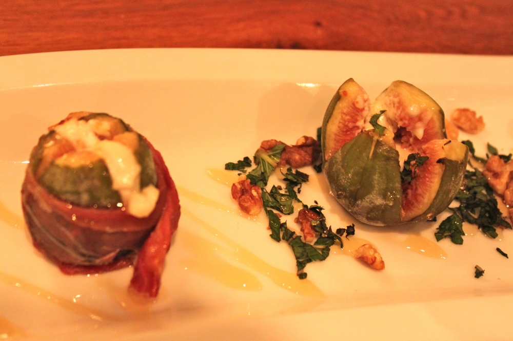 Seasons Amsterdam Grilled Figs With Goat Cheese