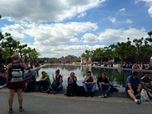Amsterdam Rijksmuseum Pond