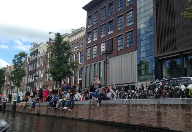 Amsterdam Waiting For Boat