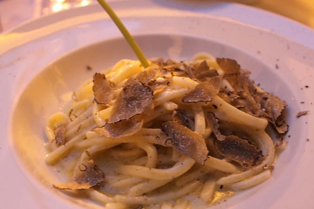 Angelo Masuccio Salerno Italy Pasta with truffles