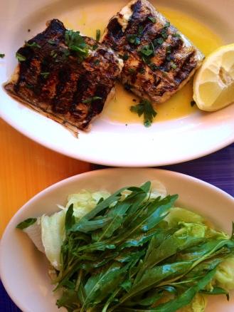 Bar Bagni d'Arienzo Fish & Salad