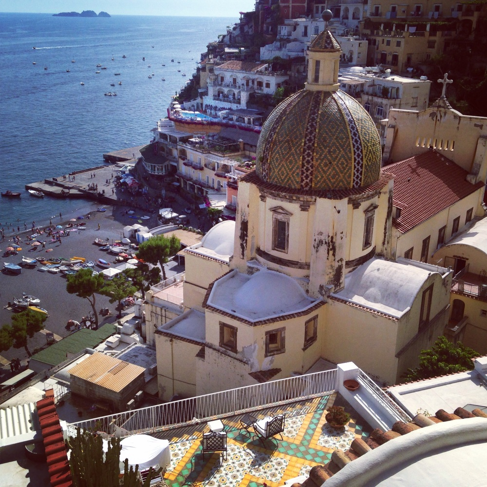 Hotel Sirenuse View Positano Italy
