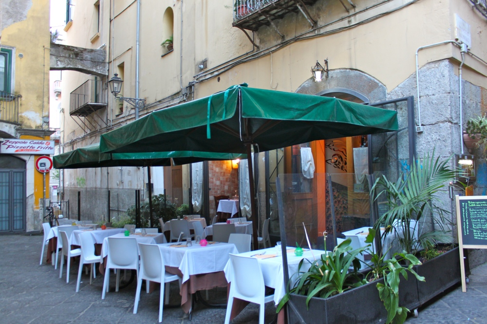 Osteria Angelo Masuccio Patio