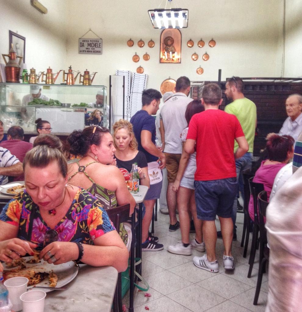 L'Antica Pizzeria Da Michele Napoli Main Dining Room