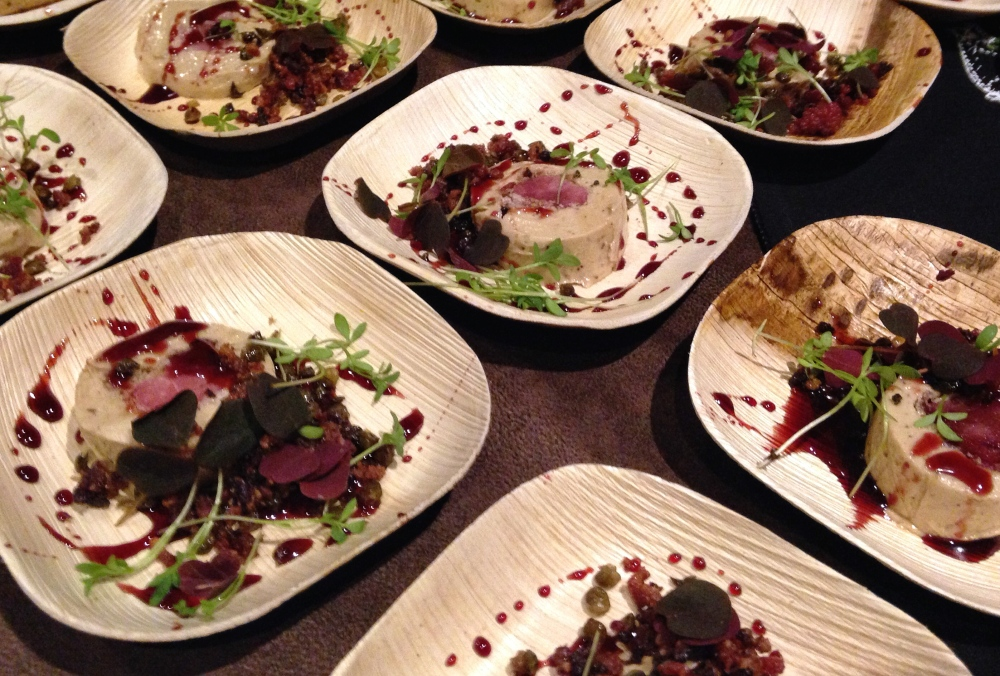 Taste America Chicago Foie Gras Boar Tenderloin with Pomegranate