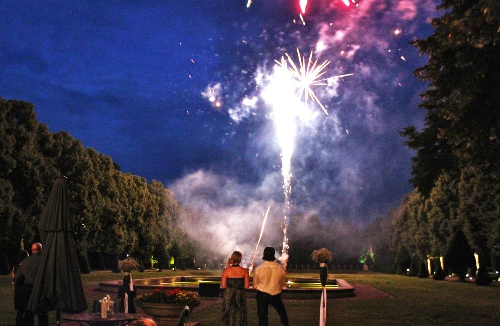 Fireworks Schloss Hasenwinkel Germany