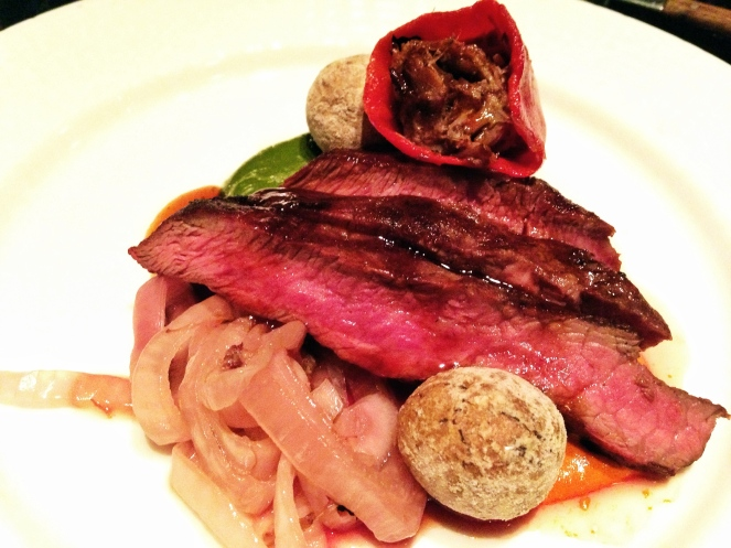 Grilled Flat-Iron Steak