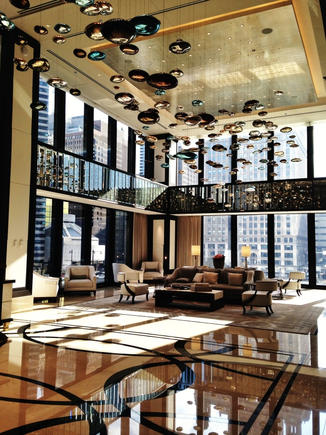 The Langham Lobby - Chicago