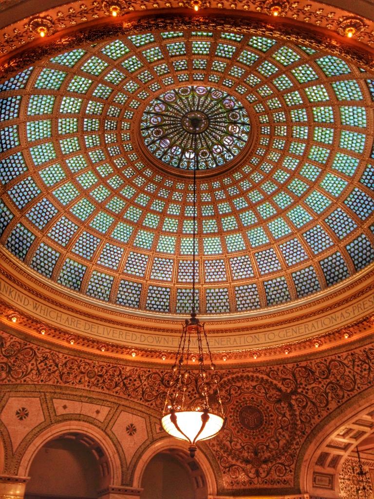 Tiffany Dome Chicago Cultural Center