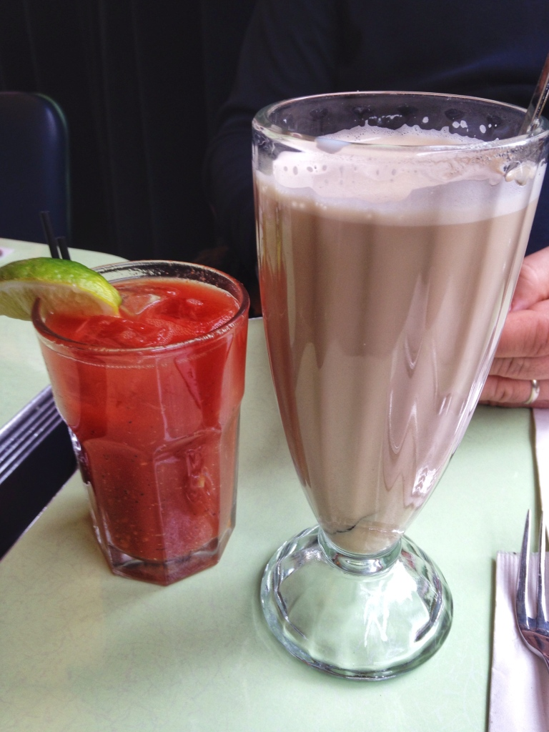 Cafe Habana Bloody Mary & Cafe con Leche