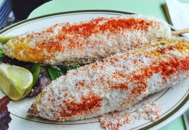 Cafe Habana Grilled Corn Mexican Style