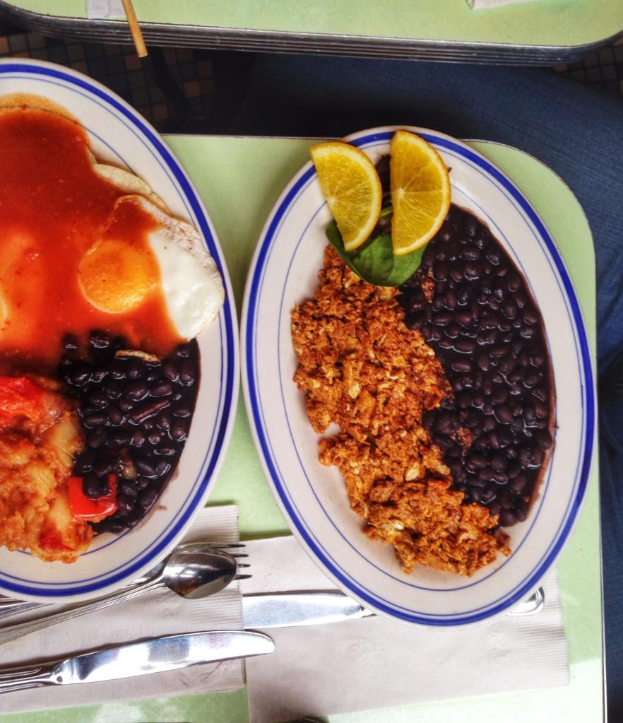 Cafe Habana Huevos & Rancheros Huevos con Chorizo