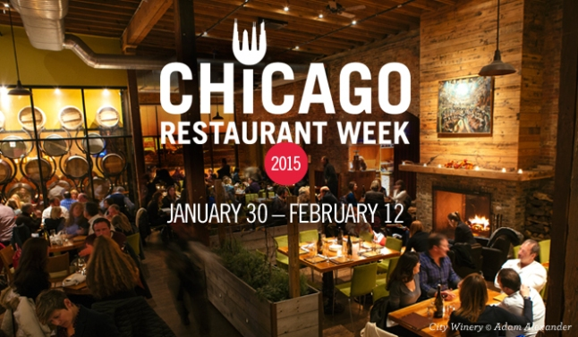 Chicago Restaurant Week 2015