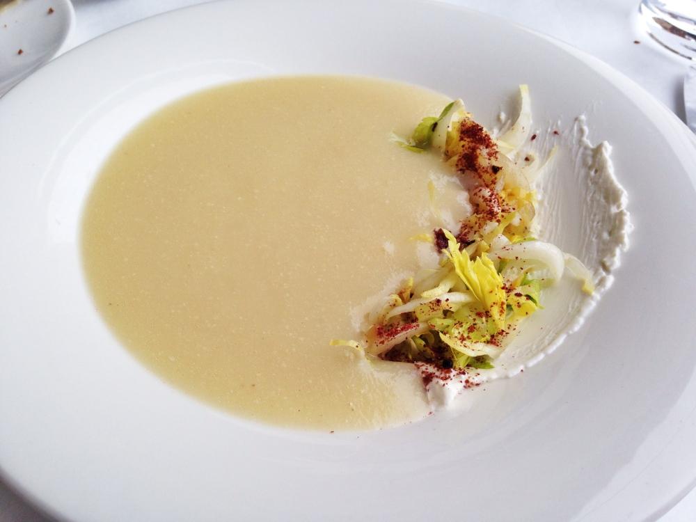 Blackbird Chicago Celery Root Soup
