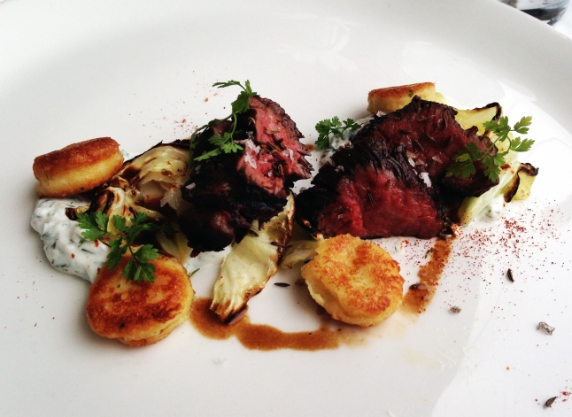Blackbird Chicago Hanger Steak