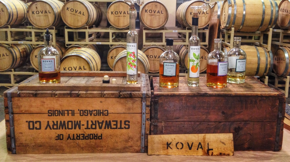 Koval Distillery Chicago Whiskey
