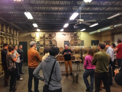 Koval Distillery Tour