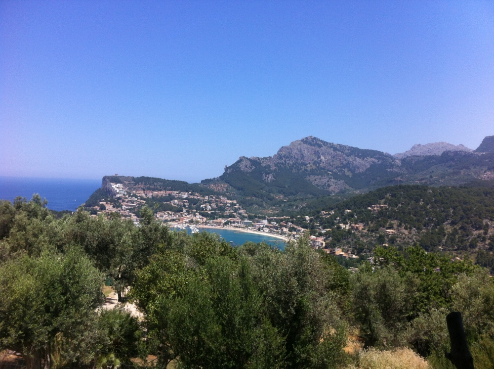 View From Hike To Port de Soller‏