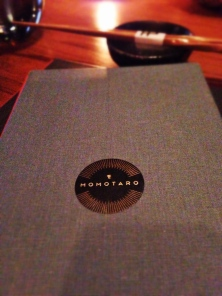 Momotaro Chicago Menu