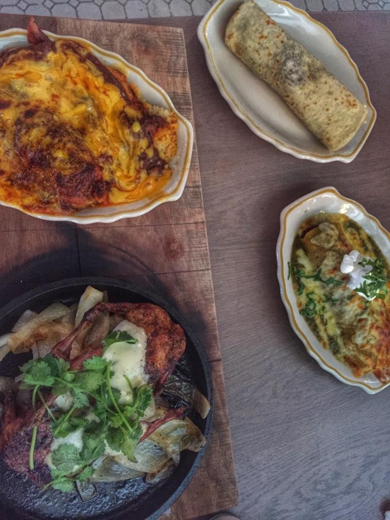 Pork Tamales, Carnitas, Enchilada Verde, Quail - Superica Atlanta