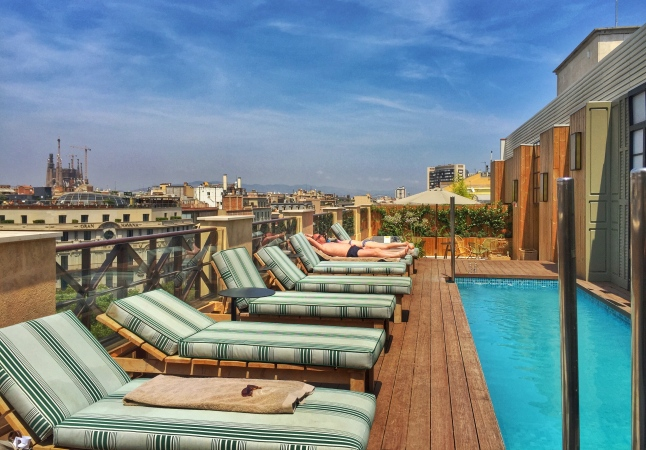 Cotton House Pool Barcelona