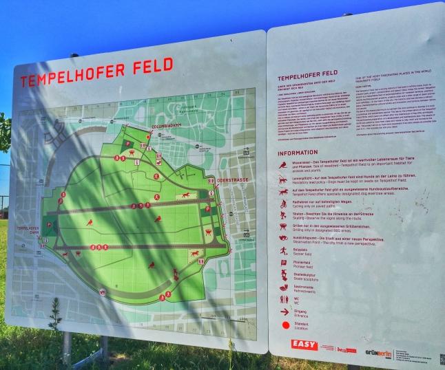 Tempelhof Berlin Map
