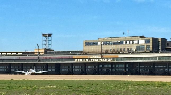 Tempelhof Berlin Plane