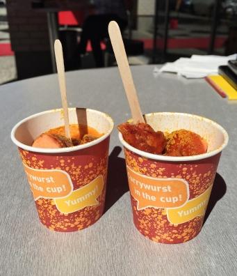 Currywurst Museum Sample | AliciaTastesLife.com