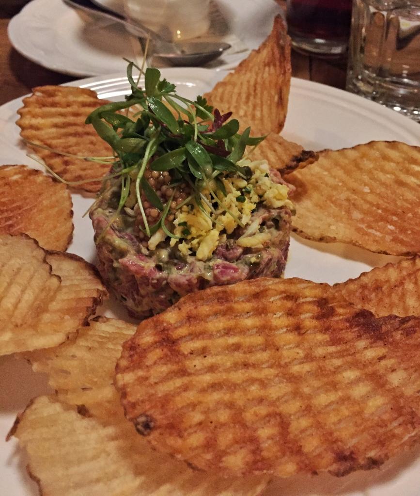 Seven Lions Chicago Beef Tartare| AliciaTastesLife.com