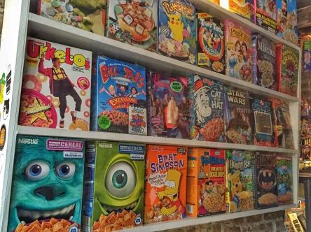 Cereal Boxes Cereal Killer Cafe | AliciaTastesLife.com