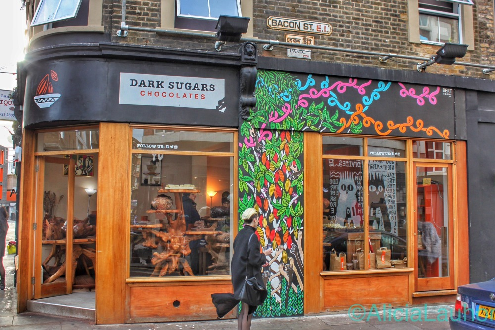 Dark Sugars Chocolates East End, London | AliciaTastesLife.com