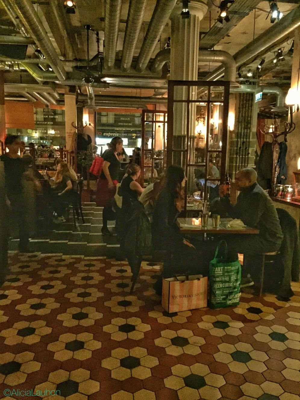 Dishoom Dining Room Shoreditch London