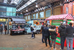 Old Spitalfields Market Food Trucks | AliciaTastesLife.com