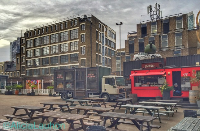 Old Truman Brewery Patio | AliciaTastesLife.com