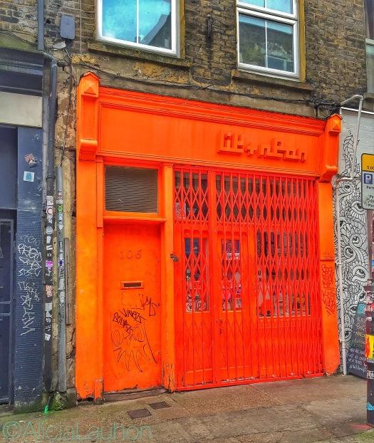 Orange Storefront East End, London | AliciaTastesLife.com