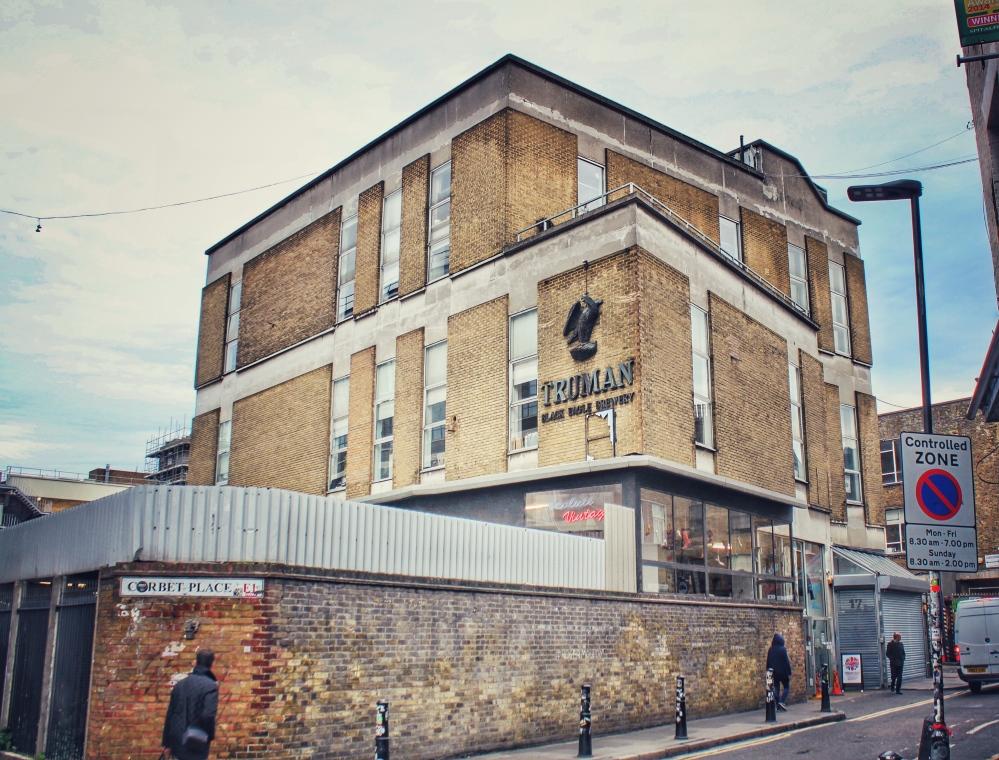 Truman Black Eagle Brewery East End, London | AliciaTastesLife.com